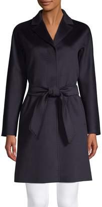 Max Mara Belted Tie-Waist Coat