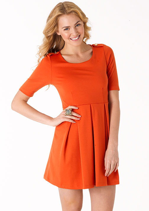Freeway Carla Fit and Flare Ponte Dress