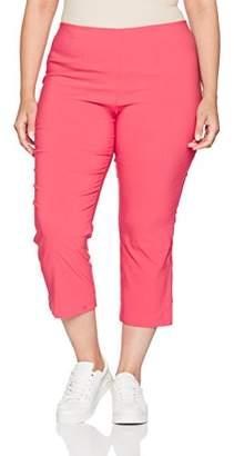 Ulla Popken Women's Bengalin Wadenlang Trousers