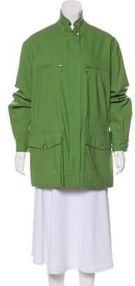 Loro Piana Wool Long Sleeve Jacket