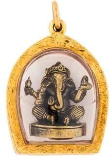 Pendleton 18K Ganesh Pendant