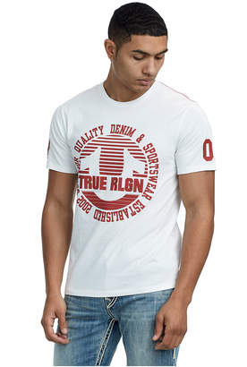 True Religion CIRCLE STRIPE CREW NECK TEE
