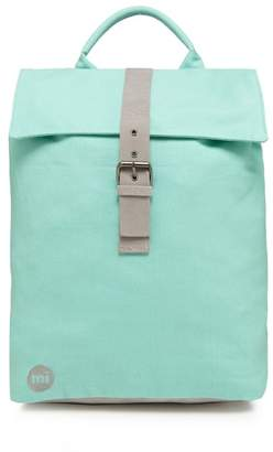 Mi-Pac MI PAC Light Green 'Canvas Day Pack' Backpack
