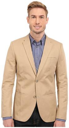 Perry Ellis Solid Slub Linen Cotton Suit Jacket $139.99 thestylecure.com