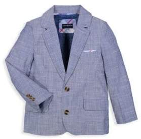 Andy & Evan Baby's Two-Piece Chambray Suit Set