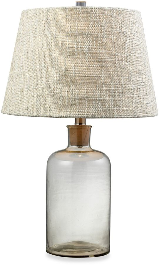 Bed Bath & Beyond 1-Light Table Lamp in Clear