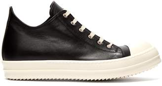Rick Owens Geobasket low-top leather trainers