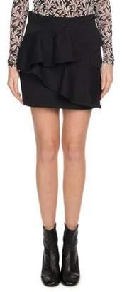 Etoile Isabel Marant Doali Flounce Cotton Mini Skirt