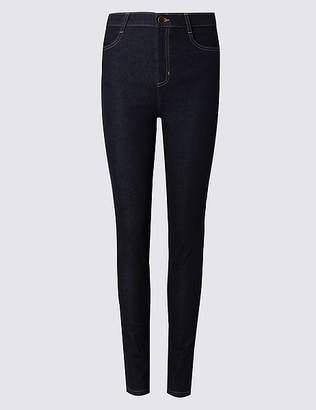 Marks and Spencer Mid Rise Skinny Leg Jeans