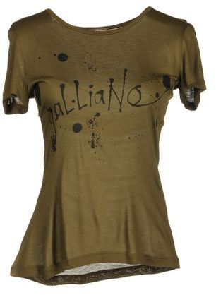 Galliano Short sleeve t-shirt