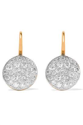 Pomellato Sabbia 18-karat Rose Gold Diamond Earrings