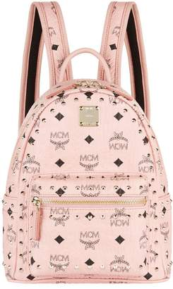 MCM Mini Studded Outline Stark Backpack