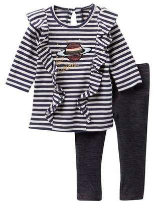 Jessica Simpson Stripe Top & Jeggings (Baby Girls)