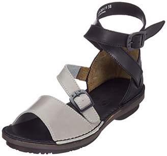 d15345c96c799 Grey Strap Sandals For Women - ShopStyle UK