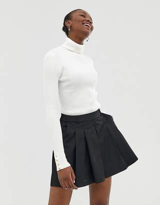 Asos Design DESIGN tennis skort in technical fabric