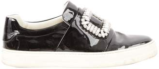 Roger Vivier Black Patent leather Trainers