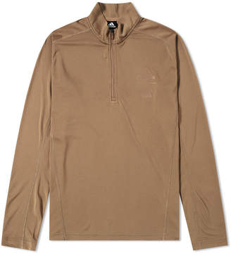 adidas x Undefeated Long Sleeve Half Zip TR Tee