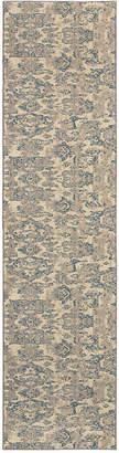"""Oriental Weavers Kaleidoscope 8023Y Modern Damask 2'7"""" x 10' Runner Rug"""