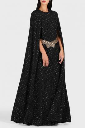 Noon By Noor Tina Cape Gown with Belt