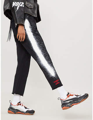 Boy London Fake cotton-jersey jogging bottoms