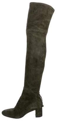 Tory Burch Suede Over-The-Knee Boots