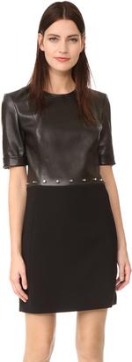 Mugler Short Sleeve Dress $2,650 thestylecure.com