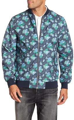 Knowledge Cotton Apparel Print Pilot Jacket