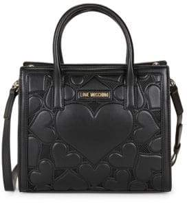Love Moschino Heart Patch Tote