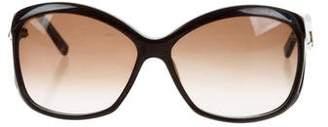 Balenciaga Oversize Round Sunglasses