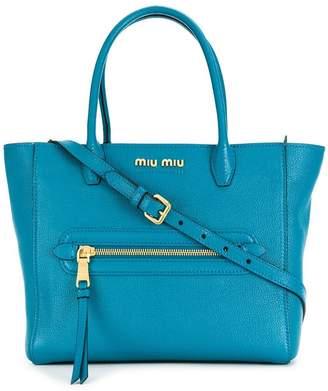 Miu Miu small logo tote bag