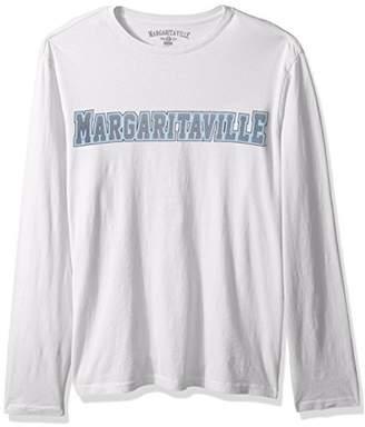 Margaritaville Men's Long Sleeve Collegiate T-Shirt