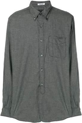 Engineered Garments micro houndstooth check shirt