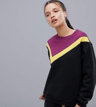 South Beach Color Block Sweatshirt