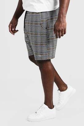 Big & Tall MAN Signature Check Shorts