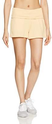 Danskin (ダンスキン) - (ダンスキン) DANSKIN フィットネスウェア Feel Pants ショートパンツ DA66150 [レディース] DA66150 OM マカロンオレンジ M