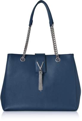 Mario Valentino Valentino by Lizard Embossed Eco Leather Divina Tote Bag