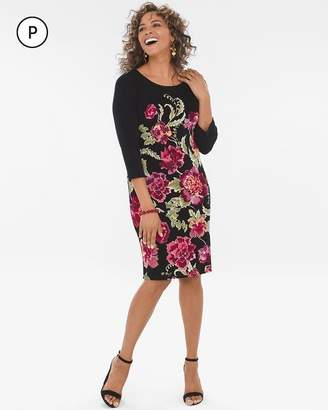 Travelers Classic Petite Heritage Floral Dress