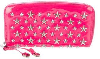 Jimmy Choo Star Studded Filipa Wallet