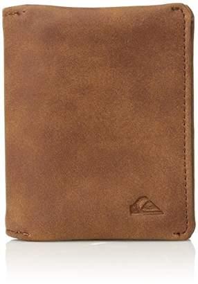Quiksilver Men's BI FOLD PU Smart Card Holder Wallet