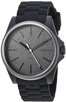 Rip Curl Men's A3120-DSH Analog Display Quartz Black Watch