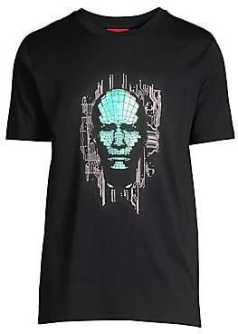 HUGO Men's K-Donducter Iridescent T-Shirt