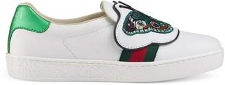 Gucci Children's Ace sneaker with butterfly
