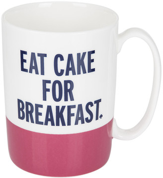 Kate Spade Eat Cake for Breakfast Mug