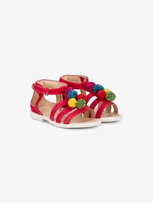 Aquazzura Mini Baby Pom Pom sandals
