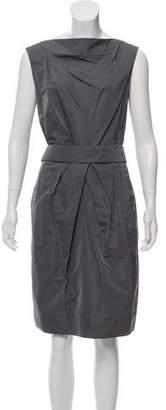Lida Baday Pleated Midi Dress
