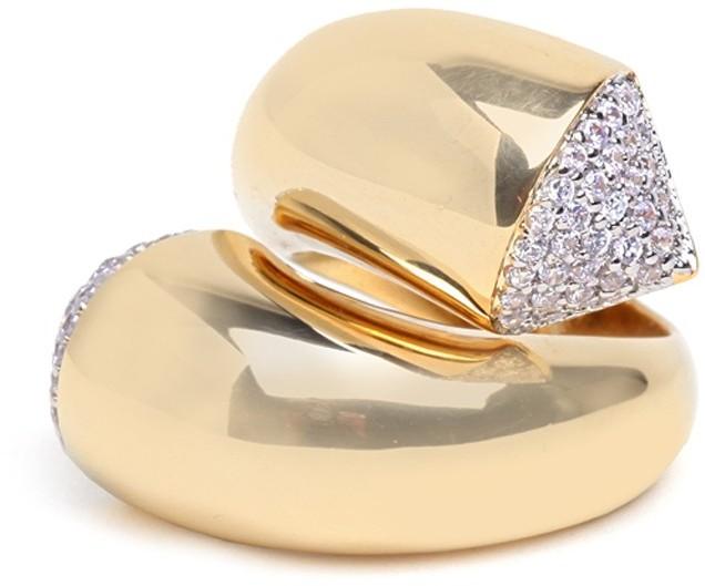 Twist Pave Ring