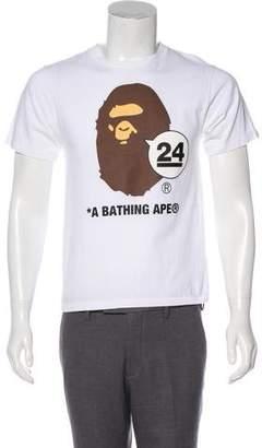 BAPE 2017 Nowhere 24th Ape Head T-Shirt