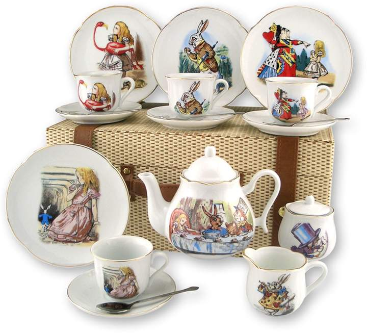 Reutter Large Alice In Wonderland Tea Set