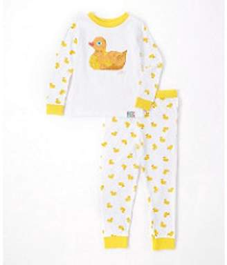 Eric Carle Baby Boy or Girl Unisex Duck Tight Fit Pajamas 2pc Set