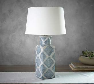 Pottery Barn Jamie Young Langley Ceramic Urn Lamp